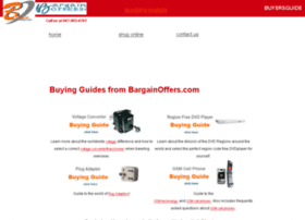 buyersguide.bargainoffers.com