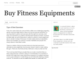 buyfitnessequipments.com