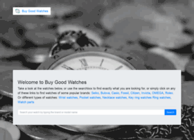 buygoodwatch.com