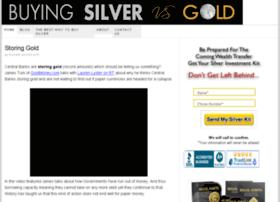 buyingsilvervsgold.com