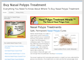 buynasalpolypstreatment.com