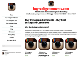 buyrealigcomments.com