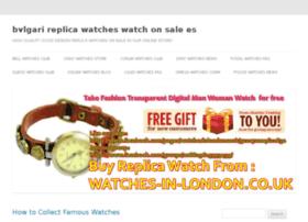bvlgari-replica-watches.watchonsale.es