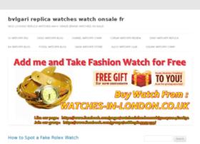 bvlgari-replica-watches.watchonsale.fr
