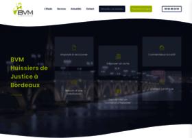 bvm-huissier-bordeaux.com