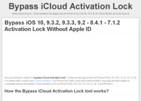 bypassicloudactivationlock.com