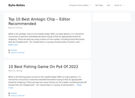byte-notes.com