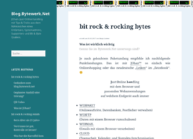 bytewerk.net