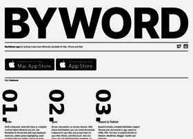 bywordapp.com