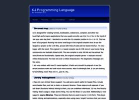 c2lang.org