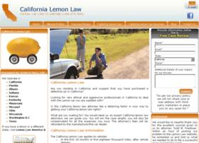 ca-lemon-law.com