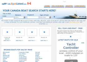 Ca.boatlisted.com