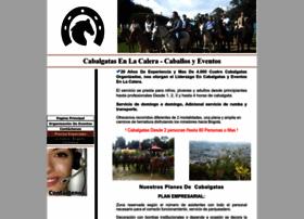 caballosycabalgatasenlacalera.com