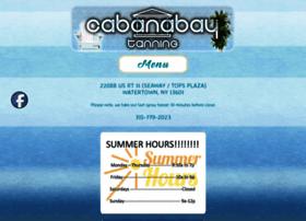 cabanabaytanning.com