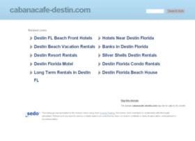 cabanacafe-destin.com