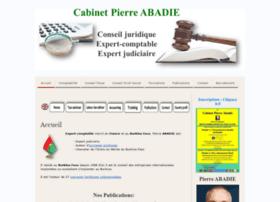 cabinetpierreabadie.com