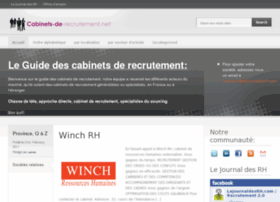 cabinets-de-recrutement.net