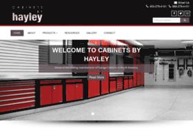 cabinetsbyhayley.com