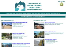 Cabinrentalbc.com