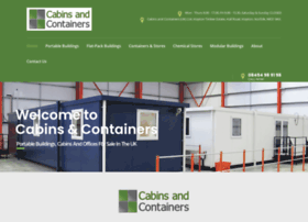 cabinsandcontainers.co.uk