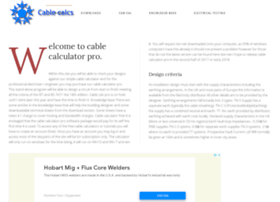 cable-calculations.co.uk