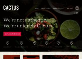 cactusrestaurants.com