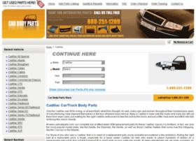 cadillac-auto-body-parts-online.com