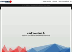 cadreonline.fr