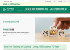 cafe.durhamcollege.ca