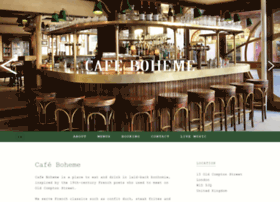 cafeboheme.co.uk