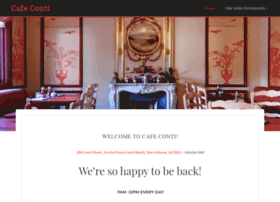 cafeconti.com