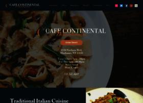 cafecontinentalmanhasset.com