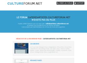 cafedesartistes.cultureforum.net