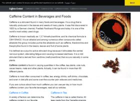 caffeine-content.com