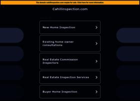 cahillinspection.com