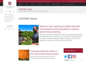 cahnrsnews.wsu.edu