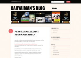 cahyaiman.wordpress.com