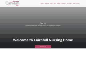 cairnhillnursinghome.com