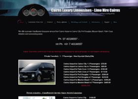 cairnsluxurylimousines.com