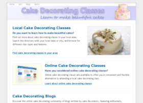 cakedecoratingclasses.org