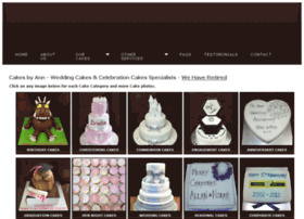 cakesbyann.co.uk
