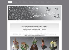 cakesbycarolyn-stafford.co.uk