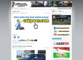 cakpoer.wordpress.com