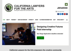 calawyersforthearts.org