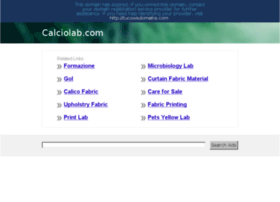calciolab.com