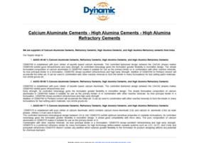 calciumaluminatecements.com