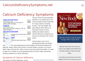 calciumdeficiencysymptoms.net
