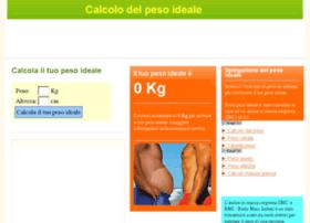 calcolopesoideale.com
