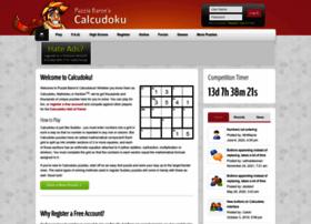 calcudoku.puzzlebaron.com