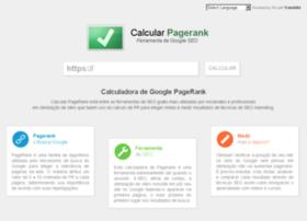 calcularpagerank.com.br